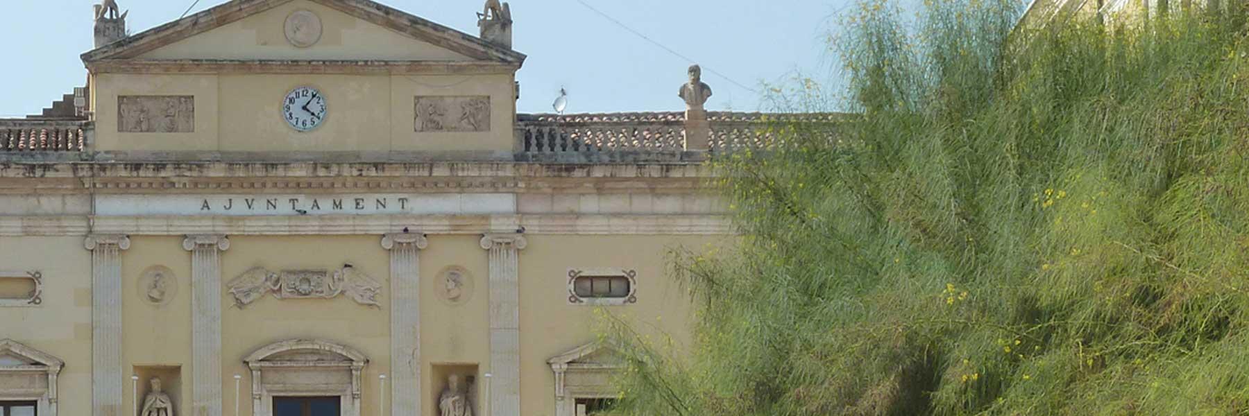 Façana Ajuntament de Tarragona