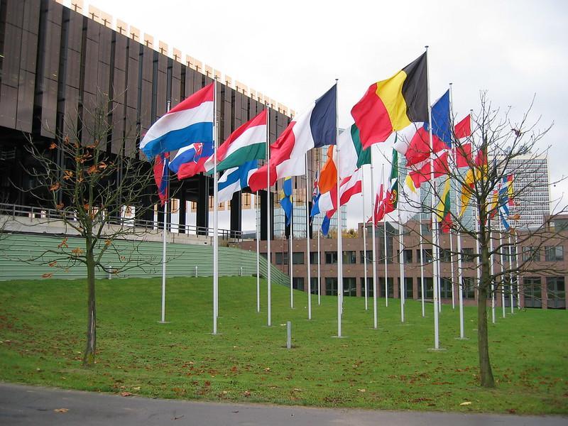 court de justice européene, foto de Cédric a Flickr